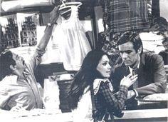 """Cena da primeira versão da novela """"Selva de Pedra"""": à esquerda, o ator Germano Filho e à direita, Regina Duarte e Francisco Cuoco. A trama foi escrita por Janete Clair e exibida na Rede Globo em 1972."""