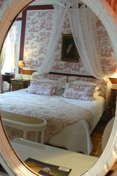 gros plan chambre Bovary romantique