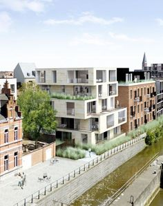 site BLEKERSDIJK | gent - Projects -  CAAN Architecten / Gent