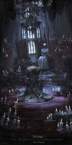 Bloodborne is an Action RPG from renowned Japanese developer FromSoftware, makers of the critically acclaimed Dark Souls series. Dark Fantasy Art, Fantasy Artwork, Fantasy World, Arte Game Of Thrones, Arte Dark Souls, Bloodborne Art, Bloodborne Concept Art, Soul Game, Happy Woman Day