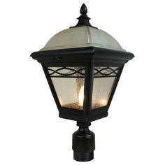 Brentwood Medium Post Mount Light