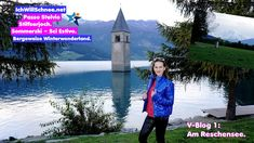 V-Blog 1 Passo Stelvio mit Lena: Am Reschensee (Winterstart 2020/21). Military Jacket, Blog, Winter, Youtube, Step By Step, Alps, Summer Recipes, Winter Time, Military Field Jacket