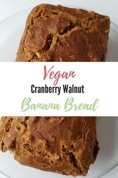 Helpful Vegetarian Techniques For places to visit Healthy Vegan Desserts, Vegan Dessert Recipes, Easy Desserts, Vegan Sweets, Vegan Snacks, Vegan Food, Healthy Snacks, Vegetarian Recipes, Vegan Banana Bread