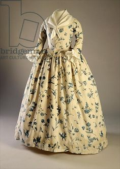 Gown worn by Deborah Sampson, who dressed up as a man to fight during the Revolutionary War
