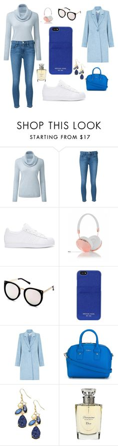 """""""Sans titre #1984"""" by merveille67120 ❤ liked on Polyvore featuring Frame Denim, adidas Originals, Frends, MICHAEL Michael Kors, Furla and Christian Dior"""
