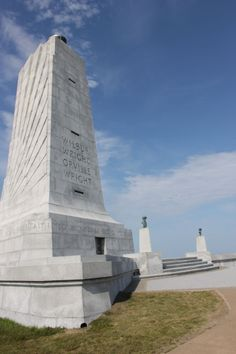 Wright Brothers National Memorial in Outer Banks.