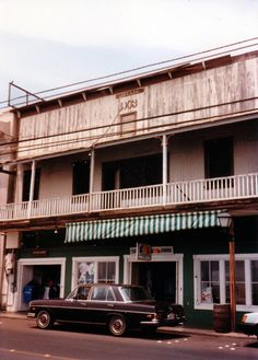 1986 - Front Street in Lahaina, Maui HI.. This is what my former home looked like the year I was born :)