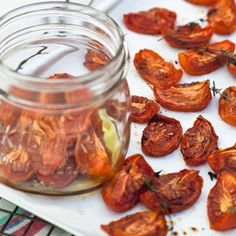 Homemade Slow-roasted Tomatoes