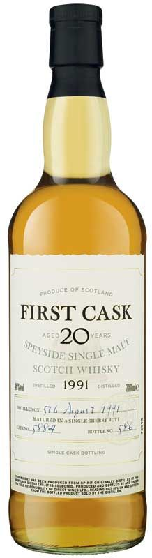 First Cask Speyside Single Malt - Laithwaites