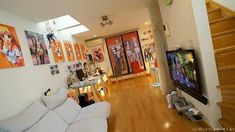 Bedroom Anime Themed Room