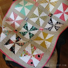 Large Pinwheel Quilt