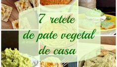 7 retete de pate vegetal de casa, delicioase si sanatoase Avocado Hummus, Brocolli, Pasta, Tahini, Raw Vegan, Cereal, Snack Recipes, Chips, Food And Drink