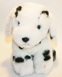 Plush Dalmatian Stuffed Animal Puppy Dog Toy Doll Lovey small