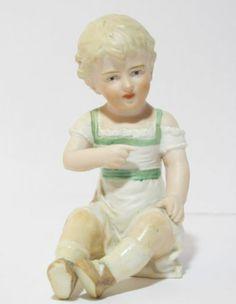 Antique German Carl Schneider Large Piano Baby Bisque Figurine Heubach Victorian   eBay