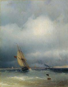 Айвазовский: Финский залив 1848