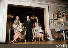 Groom and Bridesmaids Photo Ideas | Photography by 1314 STUDIO.COM | Chic, Creative, and Glamour Wedding Photo Poses and Modern Wedding Ideas