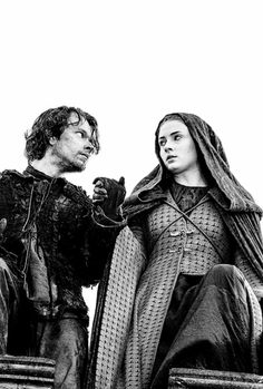 Theon and Sansa ~ Game of Thrones