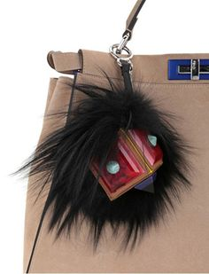 Add A Little Monster To Your Bag With a Fendi Fur Charm - PurseBlog ... 53c89705dd798