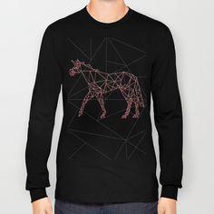 Wired Unicorn V02 Long Sleeve T-shirt by That's So Unicorny   Society6