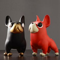 Vinyl French Bulldog Handicrafted Sculpture – Frenchie World Shop French Bulldog Puppies, French Bulldogs, Corgi Puppies, Labrador, Puppy Dog Eyes, Pembroke Welsh Corgi, Small Dogs, Decoration, Cute Dogs