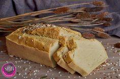 Light Paleo fehér kenyér recept és készítés videóval ~ Éhezésmentes Karcsúság Szafival Naan, Fitt, Bread, Breakfast, Morning Coffee, Brot, Baking, Breads, Buns