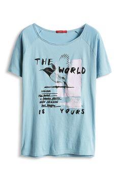edc : T-shirt con stampa frontale nel nostro shop on-line