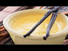 Cremă de vanilie pentru eclere, profiterol și choux-a-la-creme - YouTube Creme, Pudding, Desserts, Youtube, Food, Tailgate Desserts, Deserts, Custard Pudding, Essen