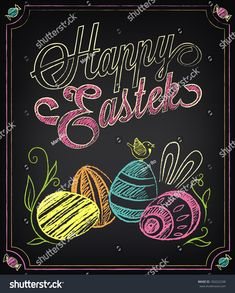 Find Vintage Card Graphic Elements Easter Chalking stock images in HD and millions of other royalty-free stock photos, illustrations and vectors in the Shutterstock collection. Thousands of new, high-quality pictures added every day. Chalkboard Pictures, Chalkboard Doodles, Chalkboard Art Quotes, Blackboard Art, Chalkboard Calendar, Chalkboard Drawings, Chalkboard Print, Chalkboard Lettering, Chalkboard Designs