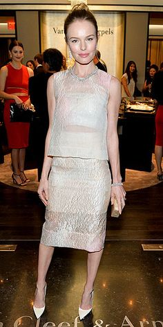 Kate Bosworth - this is unique and beautiful. Well-designed.
