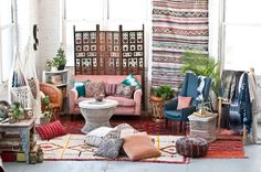 Our studio all boho'd out | Patina