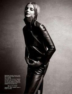 Vogue Germany  August 2012  Photographer: Patrick Demarchelier  Model: Eniko Mihalik  Stylist: Katie Mossman