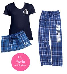 Kappa Kappa Gamma Pajama Pants in lovely blue. Sorority boxer shorts in coordinating pattern. Complete the look with a coordinating shirt. You will love our sorority pajama pants. #kappakappagamma #kappa http://manddsororitygifts.com/shop-by-sorority-store/