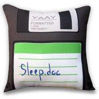 Almofada Geek Disquete Sleep