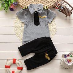Pilot Clothing set - Little Knot Heads - 1