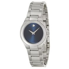 Movado Women's 'Defio' Stainless Steel Swiss Quartz Watch | Overstock.com Shopping - The Best Deals on Women's Movado Watches
