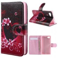 Sony Xperia Z5 Compact sydän puhelinlompakko. Sony Xperia, Compact, Wallet, Purses, Diy Wallet, Purse
