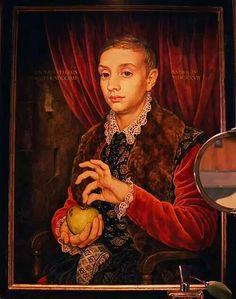 Ragazzo con mela - da Gran Budapest Hotel (Wes Anderson)