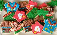 Hawaiian+Luau+Sugar+Cookie+Collection+by+NotBettyCookies+on+Etsy,+$42.00