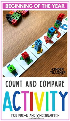 Counting math centers for beginning of the year for kindergarteners. Using hands-on activities, students will practice counting and identifying numbers 1 to 10 using ten frames, their fingers, drawing pictures, and partner activities. Discover new ways to teach these concepts and download a freebie too! Kindergarten First Week, Kindergarten Special Education, Number Sense Kindergarten, Number Sense Activities, Kindergarten Worksheets, Hands On Activities, Student Learning, Pictures To Draw, Drawing Pictures