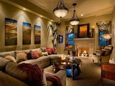 12 déco salon et chambre avec une peinture couleur taupe | House