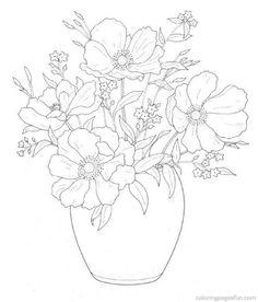 bouquet dibujo - Buscar con Google