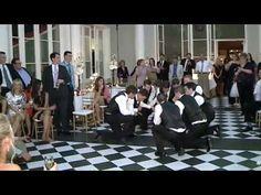 AWESOME! Wedding Groomsmen Dance — FUNNY!!! - YouTube