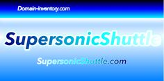 SupersonicShuttle.com is for sale.