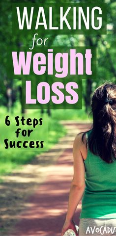 Walking to lose weight - The health benefits, what time is best, and how to do it for optimal weight loss! Find out more at http://avocadu.com/walking-to-lose-weight/ #weightloss
