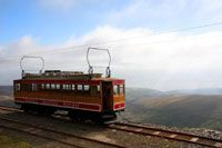 Let the Snaefell Mountain Railway transport you to the summit of the Island's only mountain where you can enjoy breathtaking views of the Seven Kingdoms.