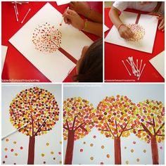 #bastoncillos #divertido #pintar #ayuda #pinza #rbol #fina #con #un #la #y #aPintar un árbol con bastoncillos, divertido y ayuda a la pinza fina!Pintar un árbol con bastoncillos, divertido y ayuda a la pinza fina!