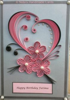 Done by: www.facebook.com/nidahandmadecards (I need to learn husking)