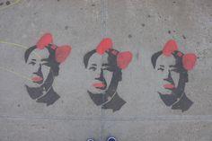 #StreetArt #NYC #Stencil