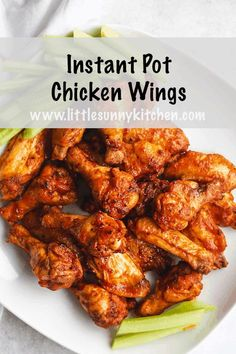 Best Instant Pot Recipe, Instant Pot Dinner Recipes, Instant Pot Wings Recipe, Instant Pot Pressure Cooker, Pressure Cooker Recipes, Pressure Cooker Chicken Wings, Pressure Cooking, Pressure Pot, Pots