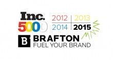 For the fourth consecutive year, content marketing firm Brafton Inc. has been recognized on the Inc. 5000 list of fastest-growing private companies.